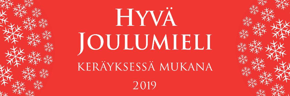 Hyvä Joulumieli 2019