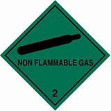 Class 2 Non flammable gas