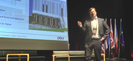 CCO Botman, DSV Solutions A/S, in LOGY Conference 2017