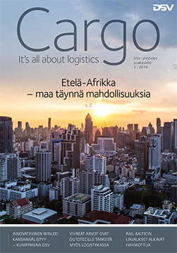 Cargo Magazine 3/2016 cover