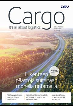 Finnish Cargo Magazine 2/2018 Cover