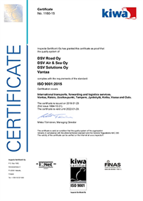 ISO 9001-2015 Quality Certificate - small