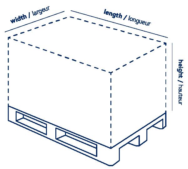 Calculateur de poids volumétrique