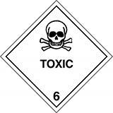 Mercancías peligrosas de clase 6: Sustancias tóxicas e infecciosas