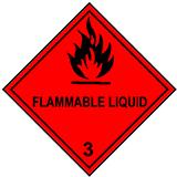 Mercancías Peligrosas Clase 3 líquidos inflamables