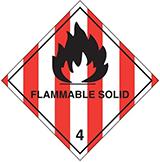Mercancías Peligrosas Clase 4.1 / 4.2 / 4.3 Sólidos inflamables, materias de combustión espontánea y peligrosas en contacto con el agua.