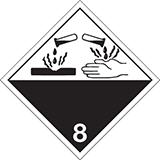 Mercancías peligrosas Clase 8 Corrosivos