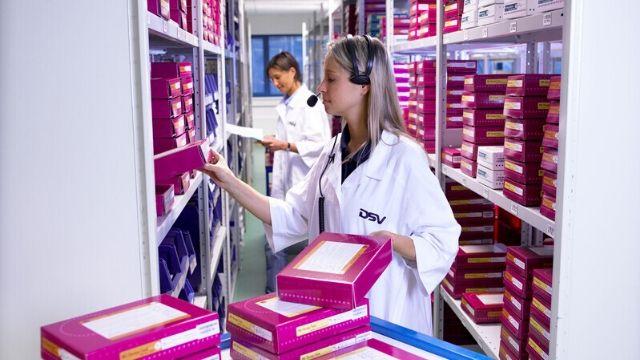 DSV Servicios dedicados - industria farmaceutica y salud