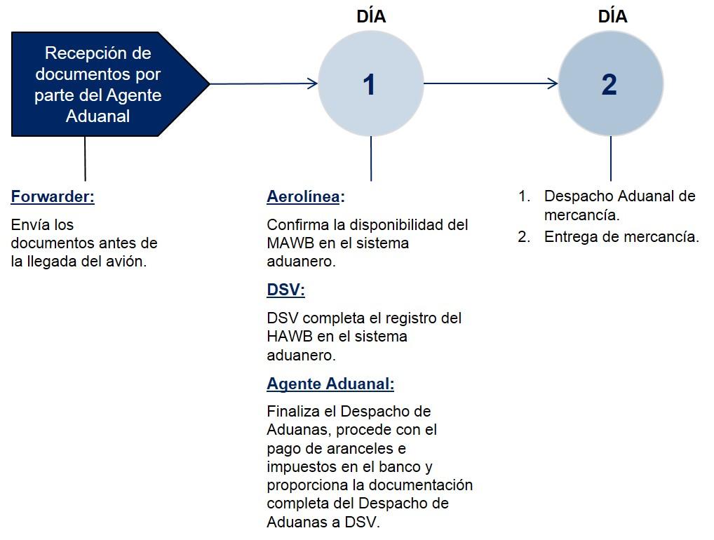 Panama Pasos Despacho de Aduanas Importacion Aerea