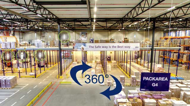 De Virtual Warehouse Tour