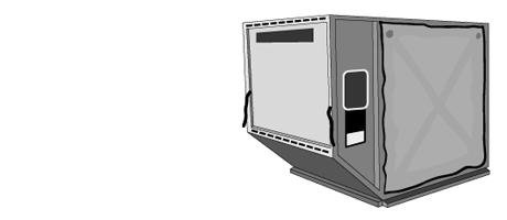 LD3/AKE/AVE konténer