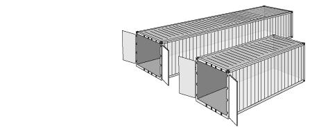 Dry container contenedor caracteristicas peso dimensiones tara transporte maritimo transitario