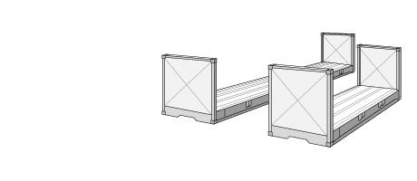 Flatrack container