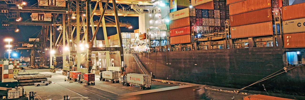 Low cost standard sea freight services | DSV