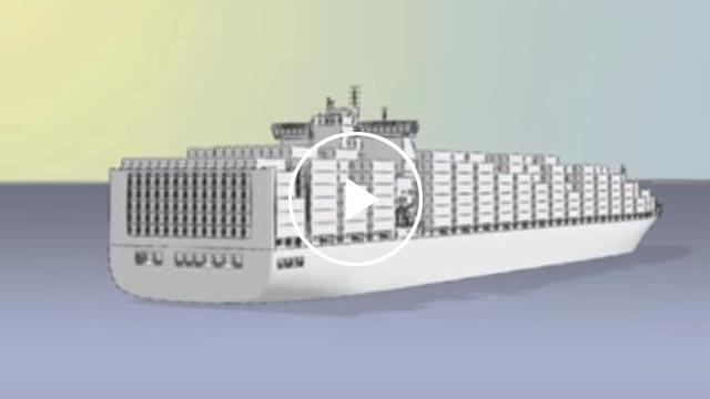 Video o námořní a letecké dopravě DSV