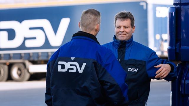 Bliv Chauffør hos DSV
