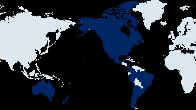 Americas & Oceania