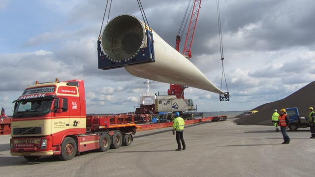 Maßgeschneiderte Projekttransporte