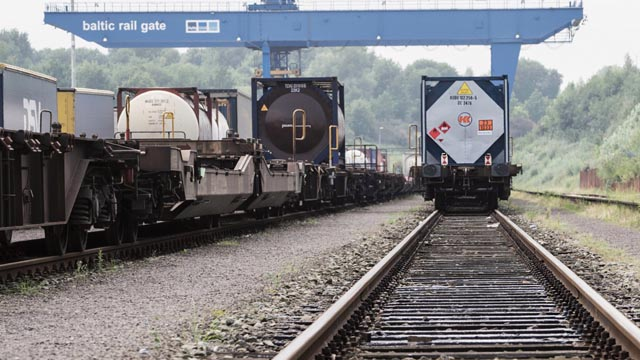 DSV tilbyder også banetransport fra Kina