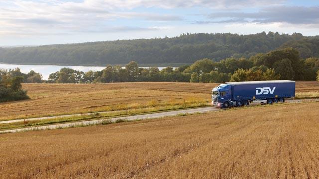 DSV Danmarks største transport- og logistikudbyder.