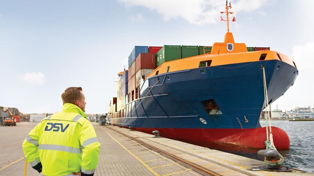 Sea freight transport