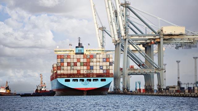 Seefracht Transporte