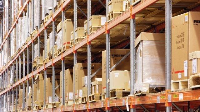 Industrial logistics brochure