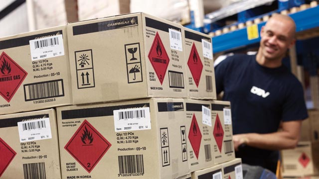 The 9 classes of dangerous goods