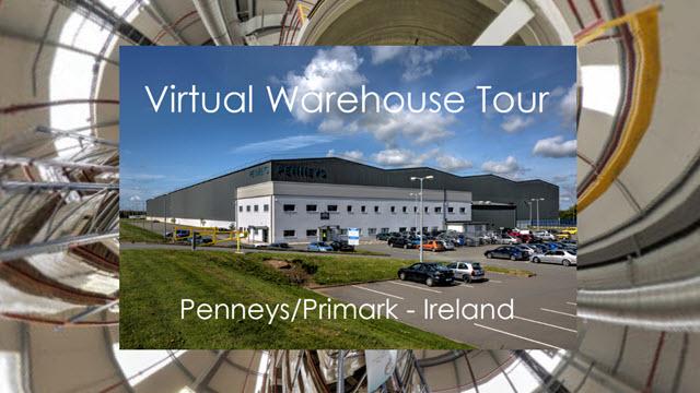 Virtual Warehouse Fashion tour