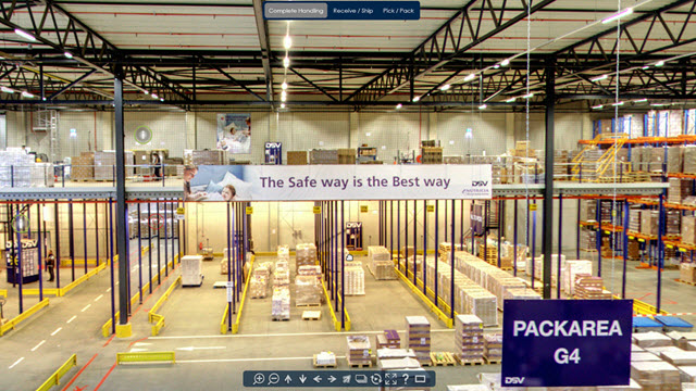 Virtual Warehouse tour