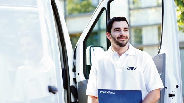Tipos de servicios de DSV Xpress