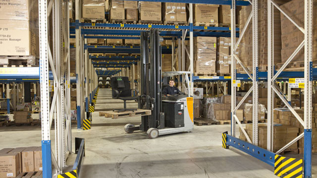 Read about how DSV partners with national chain store on distribution of non-sales inventory