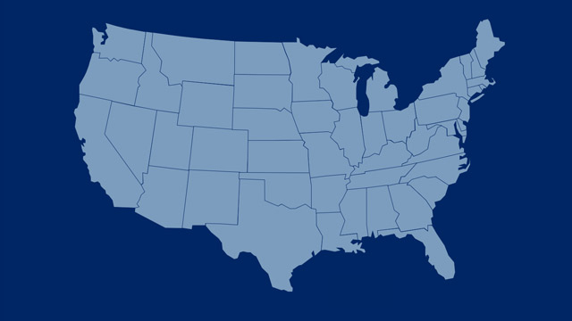 DSV Offices and Agents with Road in the United States