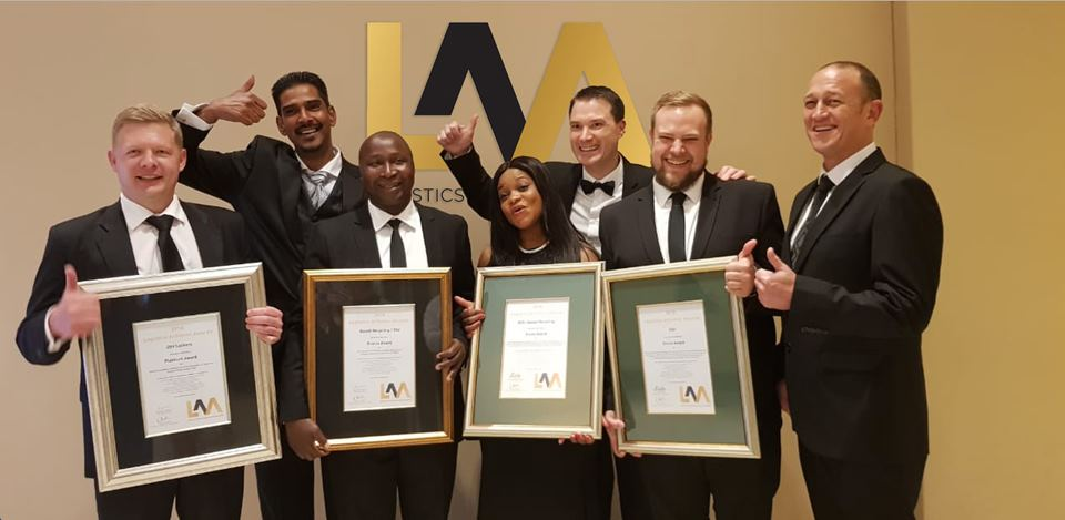DSV wins awards at LAA