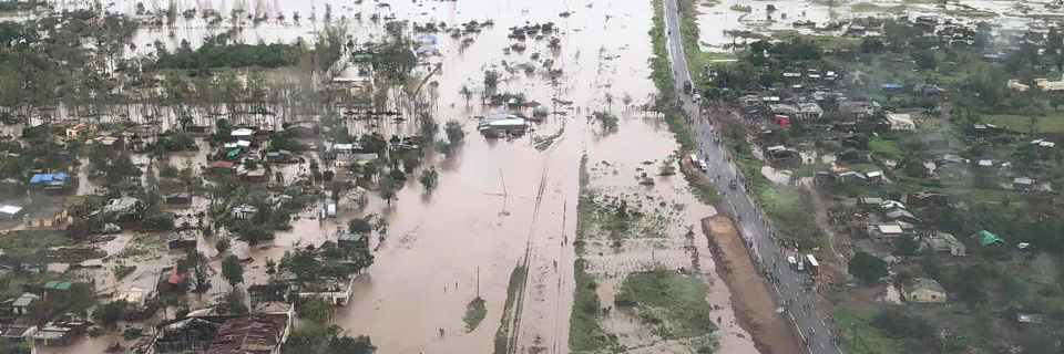 Cyclone in Mozambique