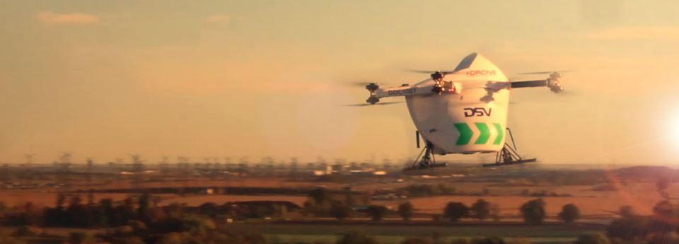 drone at dawn