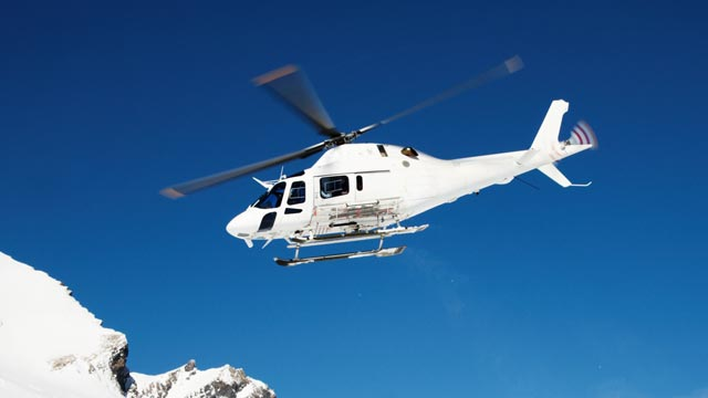 Helicopter transport worldwide - Aim high