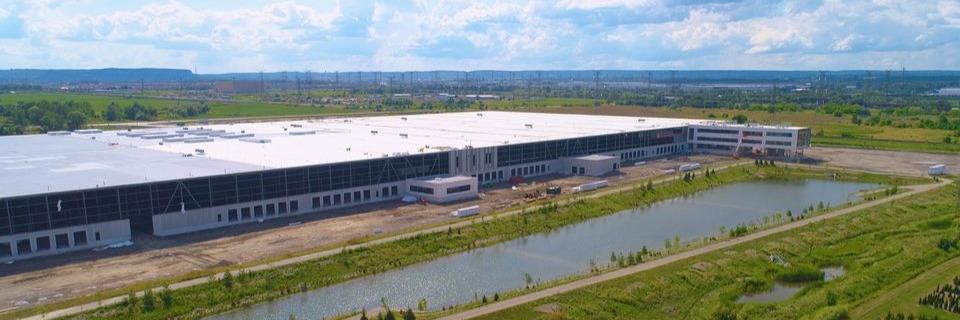 DSV Canada new milton facility