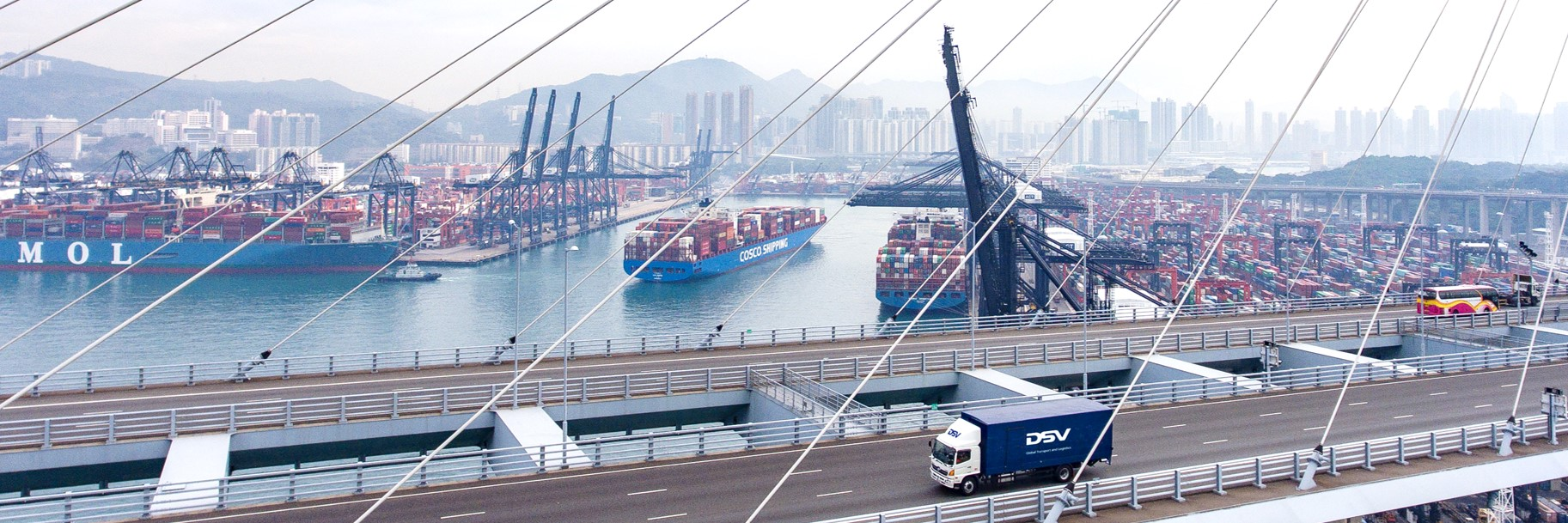 DSV introduces fast China-Europe road freight