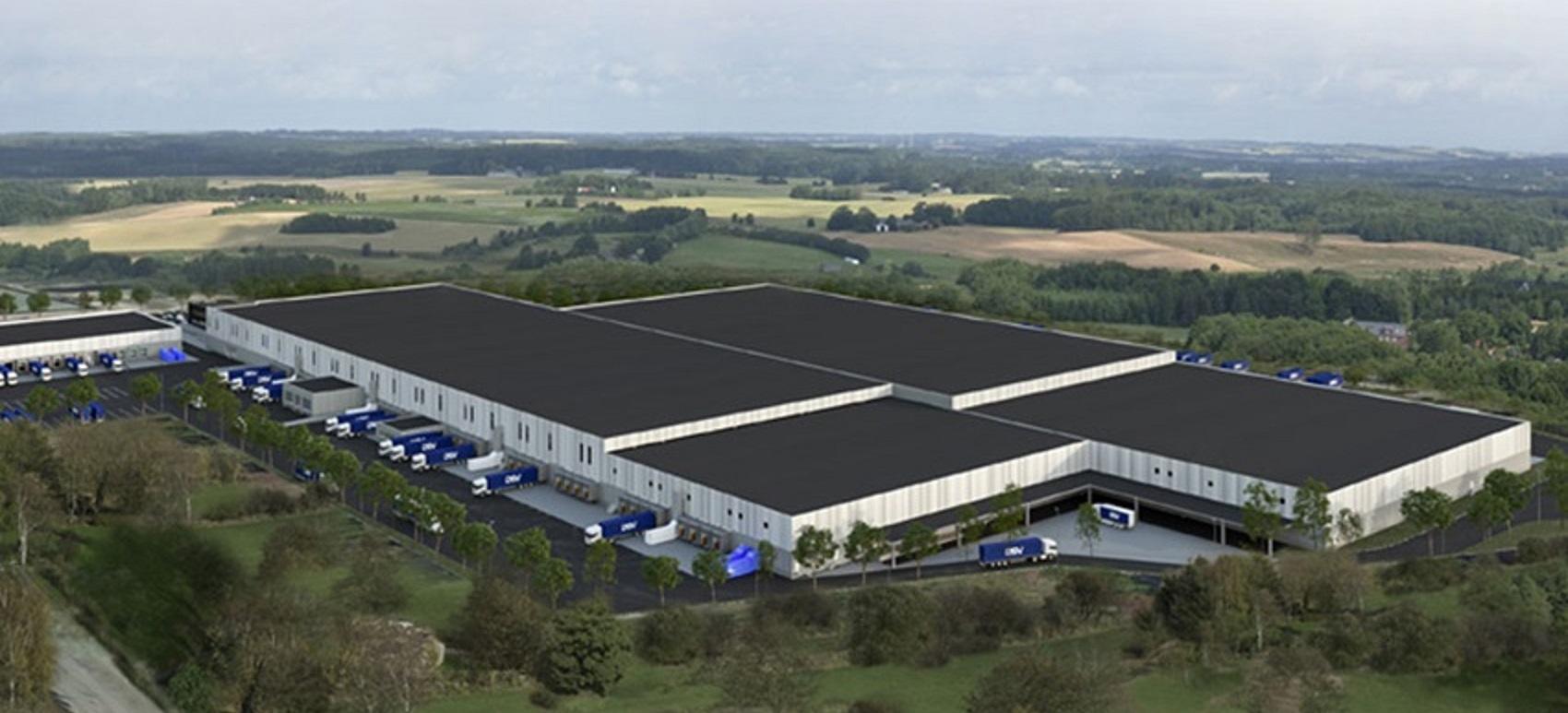 DSV builds integrated logistics centre in Stockholm Sweden