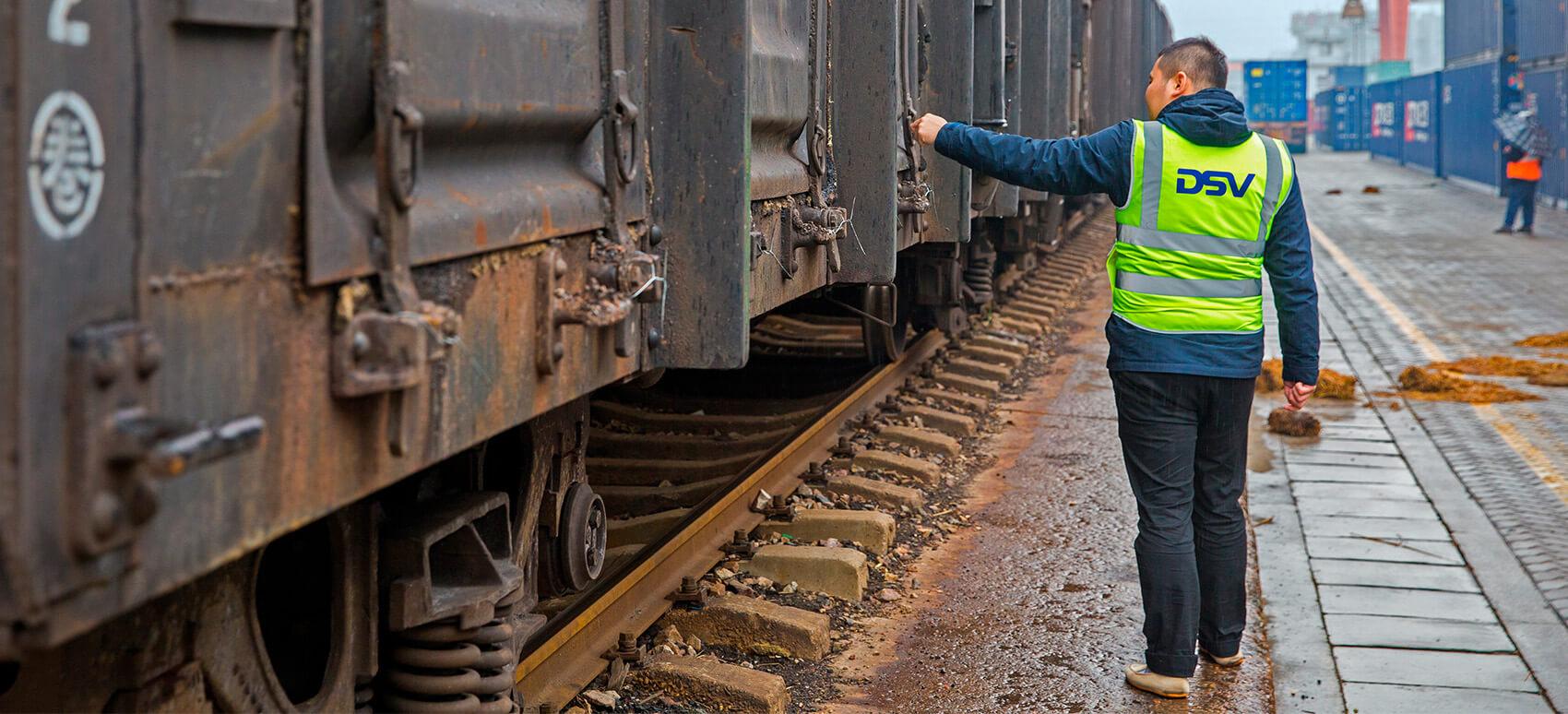 DSV-tog fra Kina