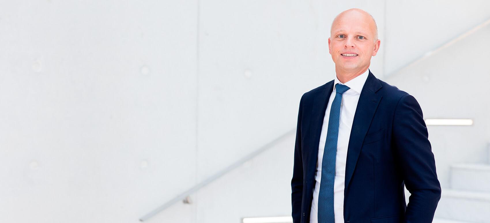 DSV's CFO Jens H. Lund er Danmark bedste