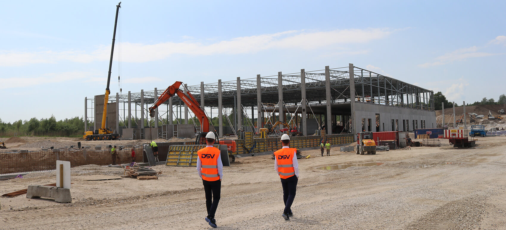 Over 150.000 m2 stort kompleks til lagerlogistik i Norden