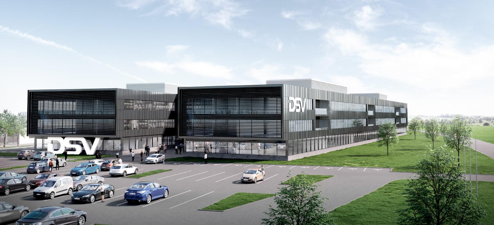 DSV opfører Europas største logistikcenter ved Horsens