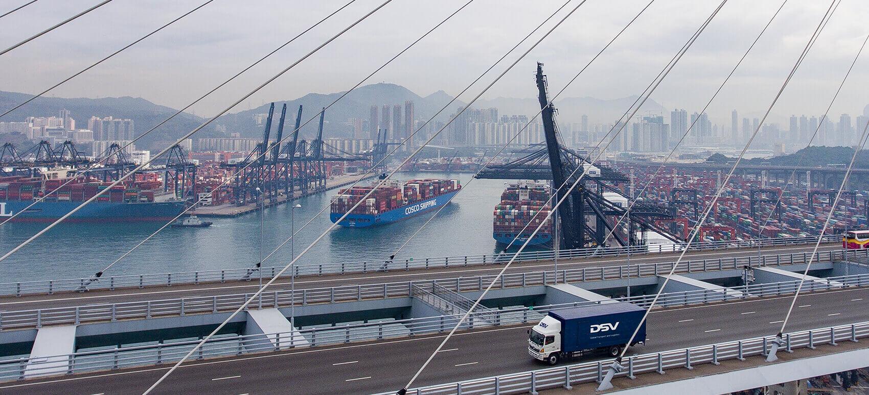 DSV introducerer DSV Silkway Express – En effektiv løsning med vejtransport fra Kina til Europa