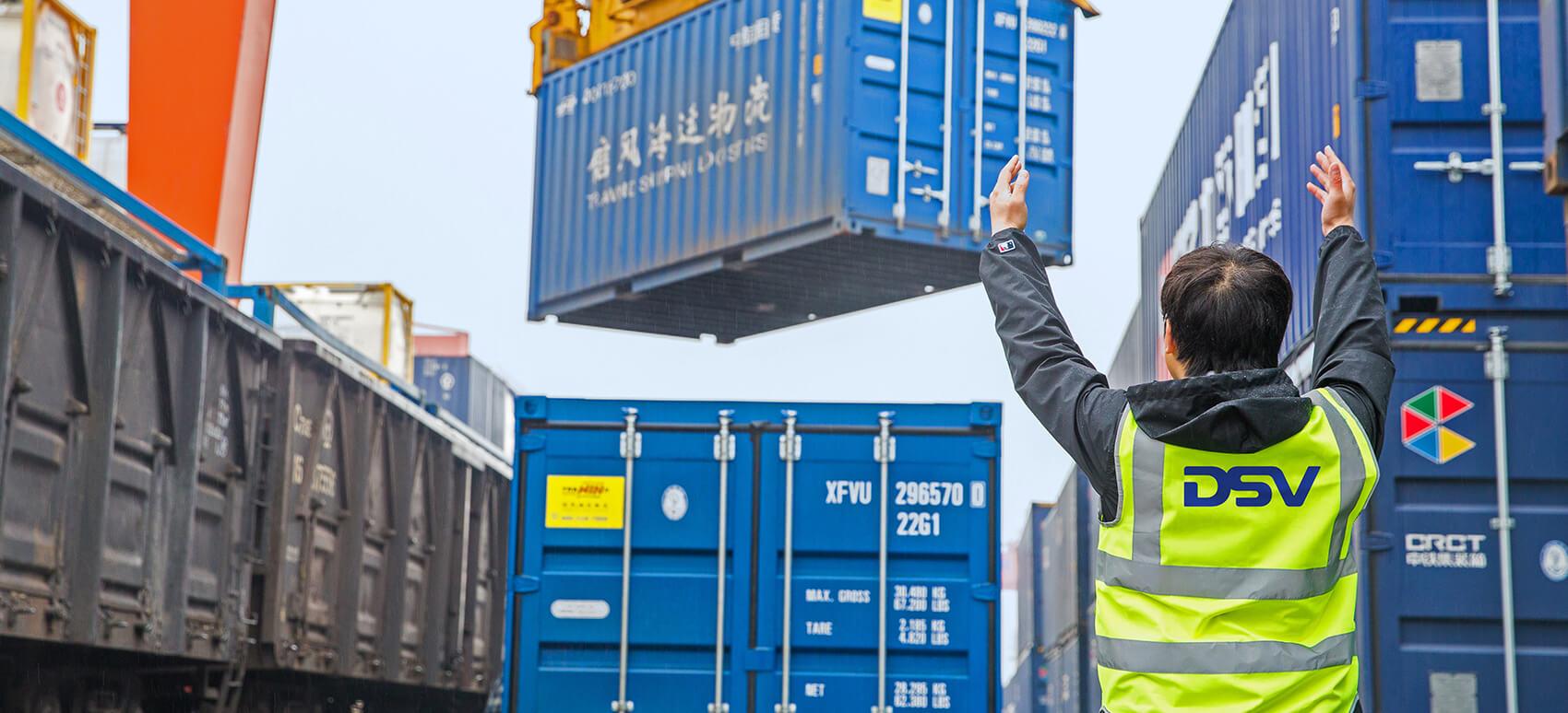 DSV-tog fra Kina til Danmark skal sikre danske forsyningskæder i udfordret transportmarked
