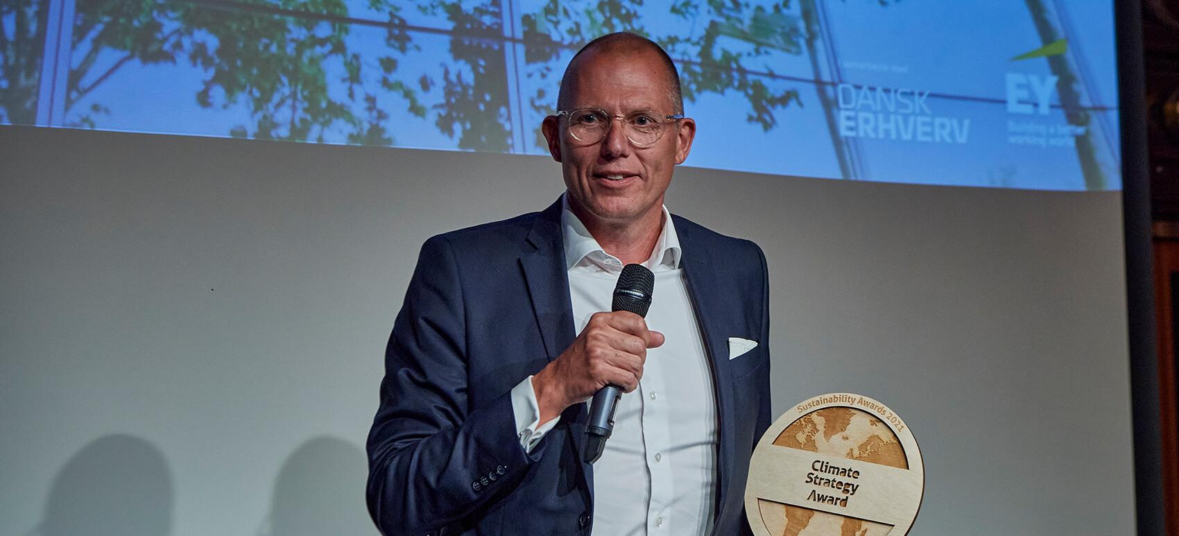 DSV vinder dansk klimapris 2021