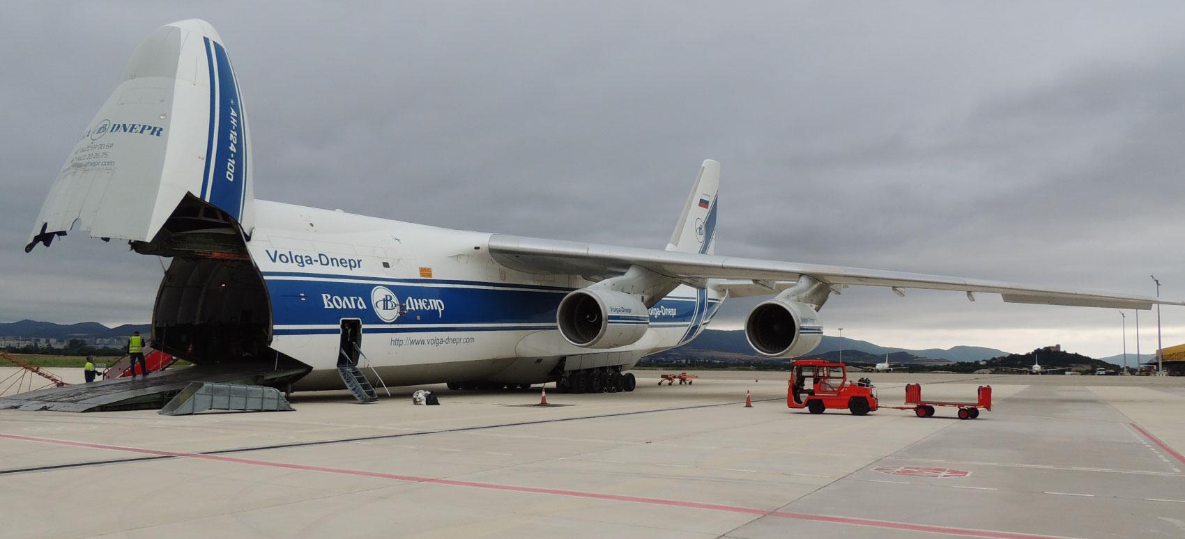 transporte aeropuerto vitoria antonov 124 dsv