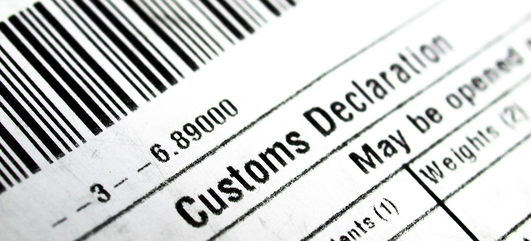 Customs, tulli