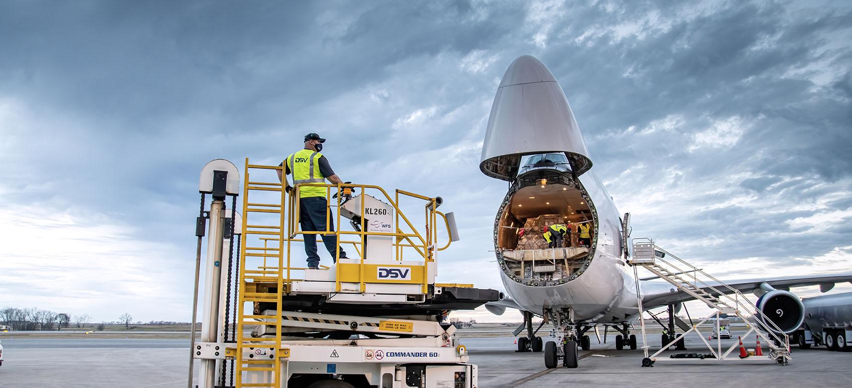 DSV ja Agility Global Integrated Logistics yhdistävät voimansa
